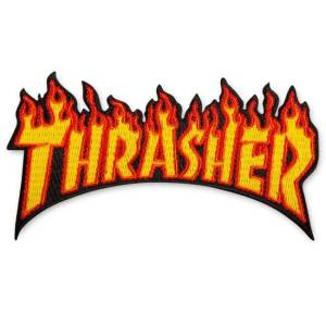 Parche Thrasher Flame