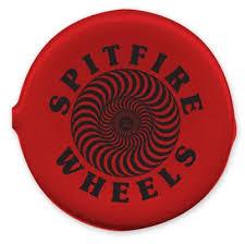 Monedero Spitfire Coin Pouch Swirl Round Red