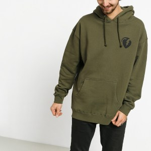 Sudadera Capucha Thunder Charged Greanade Army