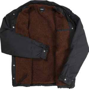 Chaqueta Huf Bakers Coach Jacket Black