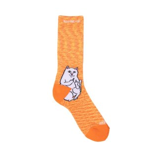 Calcetines RipNDip Lord Nermal Orange Speckle