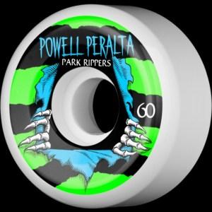 Ruedas Powell Peralta 60mm Rippers Park  Formula 84B/104A