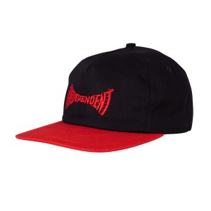 Gorra Independent Breakneck Snapback Black/Red