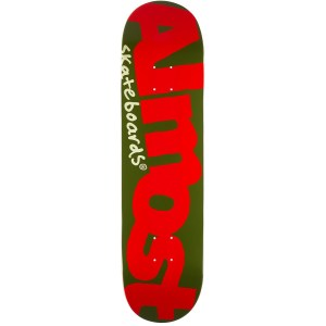 Tabla Almost 8.125″ Logo Army/Red