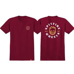 Camiseta Spitfire Bighead Classic Swirl Red