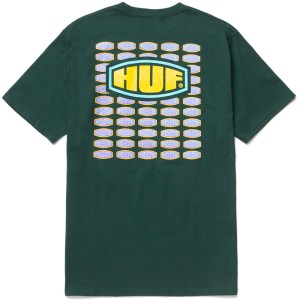 Camiseta Huf Workmans Dark Green