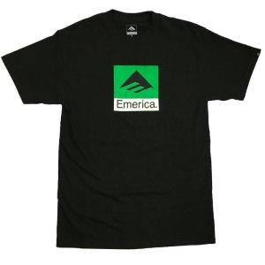 Camiseta Emerica Classical Combo Black