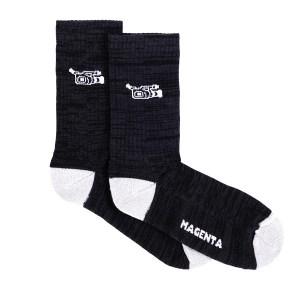 Calcetines Magenta VX Black