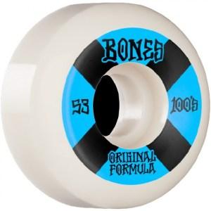 Ruedas Bones 53mm 100´S V5 100A