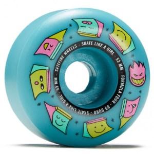 Ruedas Spitfire 53mm Radials SK8 Like Girl 99  Blue