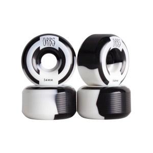 Ruedas Orbs 54mm Apparitions White/Black 99A