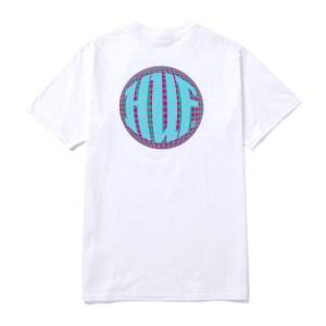 Camiseta Huf Hi-Fi White
