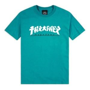 Camiseta Thrasher Godzilla Jade