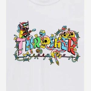 Camiseta Thrasher Devil´s Music White