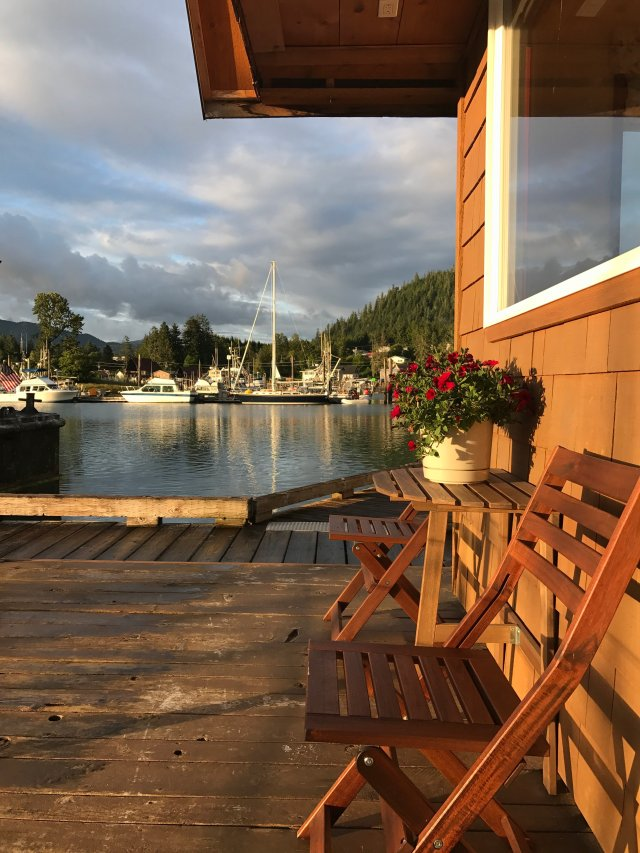 Dockside Float House Wrangell Alaska