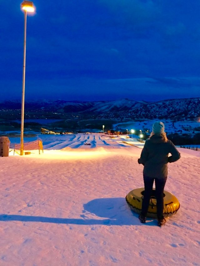 Snow Tubing at Soldier Hollow