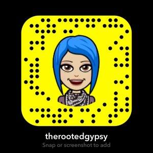 Rooted Gypsy Snapchat Code