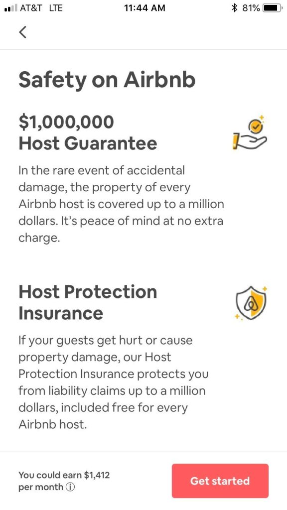 Airbnb Host Protection