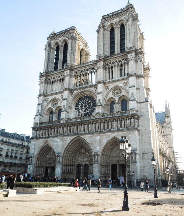 Notre Dame Cathedral Before the Blaze