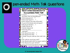 "Read about ""Open-ended Math Talk Questions"" here!"