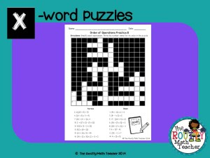 "Read about ""X-word Puzzles"" here!"