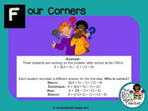 "Read about ""Four Corners"" here!"