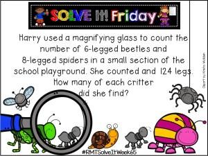 Solve It! Friday- Task #65