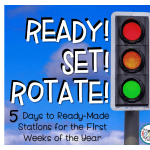 Ready, Set, Rotate: 5 Days to Ready-Made Math Stations