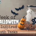 Week of Halloween-Inspired Math Tasks