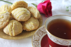 Lemon Ginger Tea Cookies