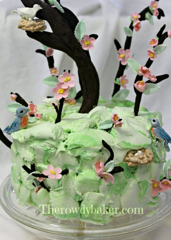 Apple Blossom Cake - The Rowdy Baker