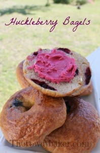 HUCKLEBERRY BAGELS watermark