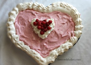 CLOUD NINE BERRY PIE heart shape watermark