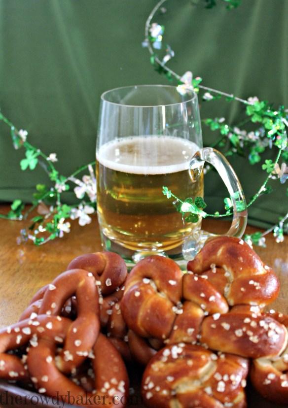Beer and pretzels 1