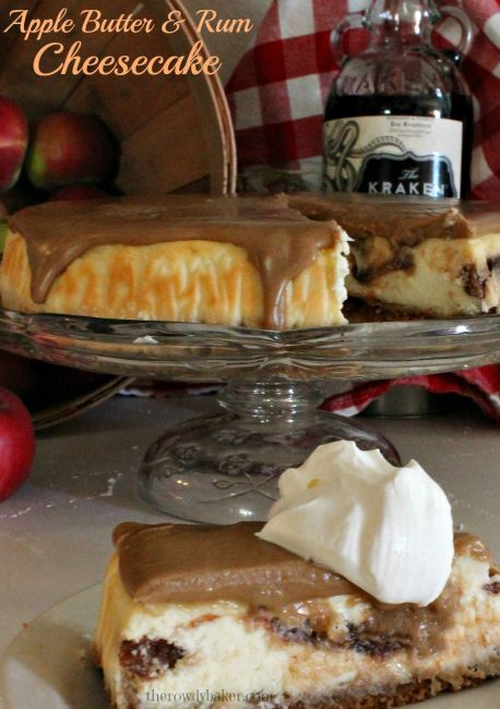 Apple Butter & Rum Cheesecake cover