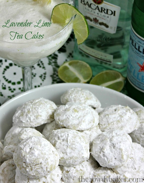 Lavender Lime Tea Cakes, The Rowdy Baker