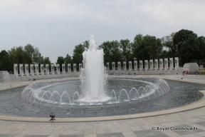WW II Memorial Fountain