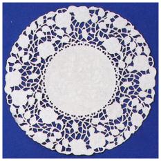 Floral Lace Paper Doilies by Royal Lace