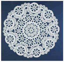 Medallion Lace Paper Doilies by Royal Lace