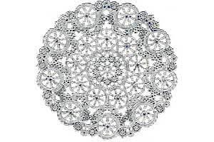 Medallion-Silver-Foil-Lace-Paper-Doilies-Royal-Lace-TheRoyalstore