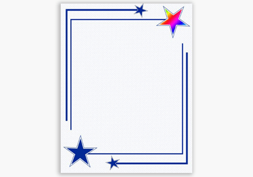Rising Star Award Certificates Geographics Holographic Foil