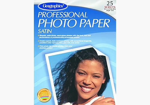 Satin Photo Paper Geographics
