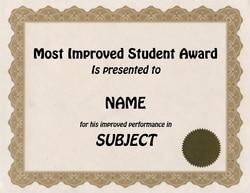 Printable School Certificate TheRoyalStore