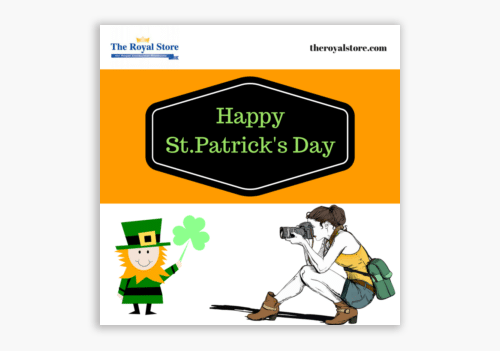 photo paper St Patricks Day theroyalstore