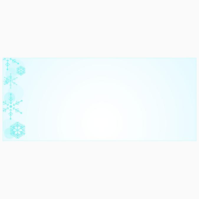 Blue-Snowflake-Envelopes-No-10-Geographics-49254