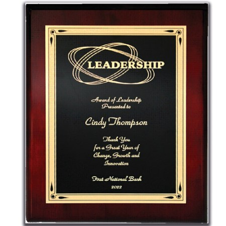 Engraved Metallic Award Plaques TheRoyalStore