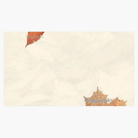 """Crushed Leaves Business Cards, 2""""x3.5"""" Print on Demand"""