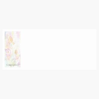 "Lilies Envelopes No.10 (4.12""x9.5"") Print on Demand"