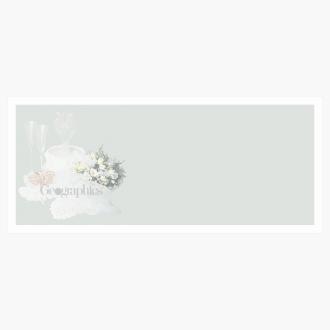 "Nuptial Wedding Envelopes No.10 (4.12""x9.5"") Print on Demand"