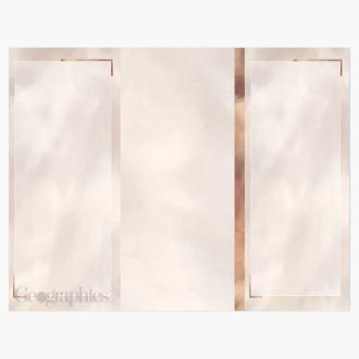"Copper Tri-Fold Brochures, 8.5""x11"" Print on Demand"